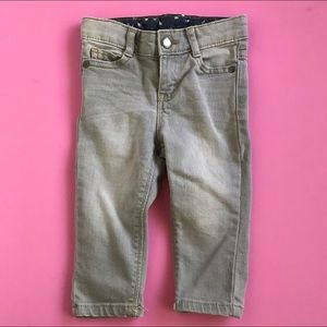 12M OshKosh Light-wash Gray Denim Jeans